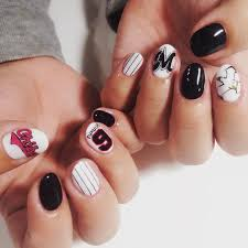 28+Awesome Base Ball Nail Designs | Design Trends - Premium PSD ...