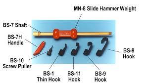 slide hammer attachments. no. slide hammer attachments