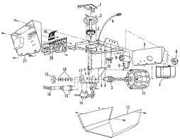 sears garage door opener partssears 13953413 garage door opener parts