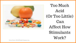 How Do Antacids Work Can Foods Acids And Antacids Affect Stimulants Adhd Roller