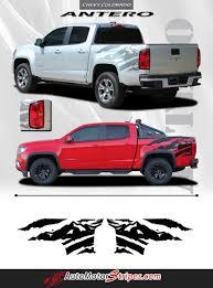 2018 gmc rocky ridge. delighful ridge 2015 2016 2017 2018 chevy colorado antero rear side truck bed mountain  scene accent vinyl graphics 3m stripes kit and gmc rocky ridge t