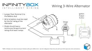 three wire alternator wiring diagram gooddy org alternator wiring diagram parts at Alternator Wiring Diagram