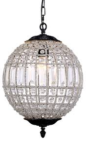 ball pendant lighting. Picture Of Marseilles 1 Light Small Ball Pendant (Marseilles/Ball/SML) Lighting