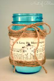 Decorate Jar Candles DIY Sheet Music Mason Jar Candle 67