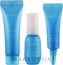 <b>Laneige Water Bank</b> Hydro Kit (essence/10ml+cr/10ml+eye/gel/3ml ...