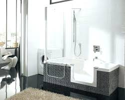 walk in bathtub and shower bathtub shower combo for small bathroom large size of the brilliant walk in bathtub and shower