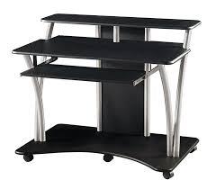 black glass computer desk desks review and photo little argos