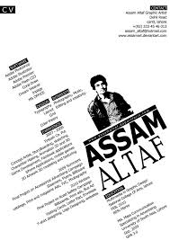 My Graphic Design Cv By Assamart On Deviantart Design
