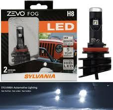 Sylvania Zevo Fog Lights Sylvania Zevo H8 Led Fog Light Bulbs Contains 2 Bulbs 2day Delivery