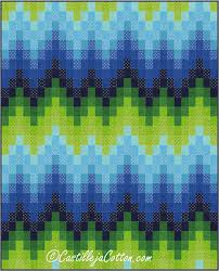 Bargello Waves Quilt Pattern CJC-4772 (intermediate, lap and throw) & Bargello Waves Quilt Pattern CJC-4772 Adamdwight.com