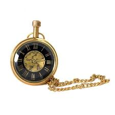 antique brass golden watch brass