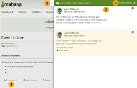 4.9. Commenting — Mahara 15.10 user manual
