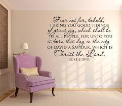 scripture wall decal fear not for behold scripture vinyl wall art bible wall quotes on scripture vinyl lettering wall art with scripture wall decal fear not for behold code 124 vinyl