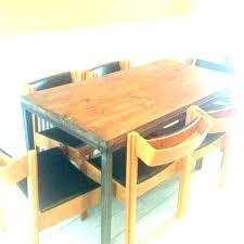 rustic solid wood dining table rustic solid oak dining table large solid wood dining table creative