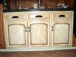 how to paint kitchen cabinets look antique cab