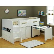 um image for savannah storage loft bed with desk weight limit charleston storage loft bed with