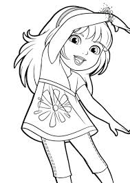 dora and friends mermaid coloring pages