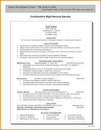 Pleasant Combination Resume Template Word 6 The Combination Resume
