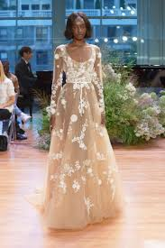 the 11 best wedding dresses for fall 2017 fashionista