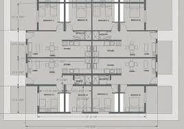 Apartment Building Plans Design Custom Design