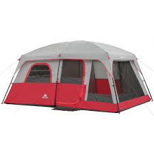 Multiple Room Tents Ozark Trail 9 Person 2 Room Instant Cabin Tent With Screen Room