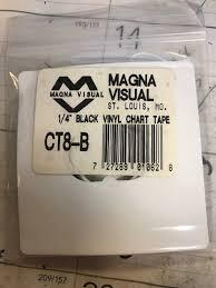 Magna Visual Chart Tape Upc 727289010628 Magna Visual Vinyl Chart Tape 1 4in X