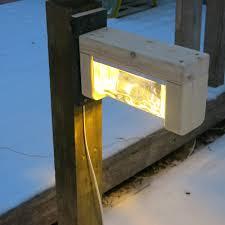 do it yourself led lighting. Diy Garden Lamp Progress Do It Yourself Led Lighting (