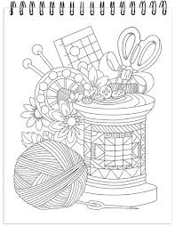 More than 5.000 printable coloring sheets. Quilts Coloring Book For Adults With Hardback Covers Spiral Binding Colorit