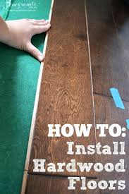 diy hardwood floor installation how to install hardwood floors diy hardwood floor on concrete slab
