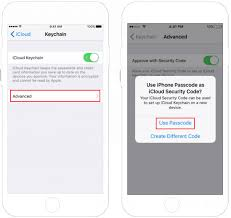 Icloud Security Code Use Icloud Keychain To Save Password In Safari