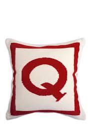 Image of Jonathan Adler Q Letter Pillow - 16