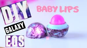 diy galaxy eos lip balm with baby lips pink punch tutorial wendiness lu you