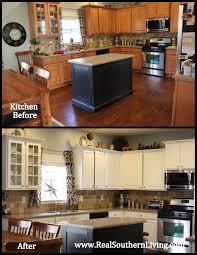Repaint Kitchen Cabinet Repaint Kitchen Cabinets Highgloss Car Paint Step 3 Painted