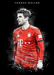 Thomas Muller Paintings Art | Thomas muller, Bayern munich wallpapers,  Football poster