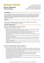 Sample Healthcare Marketing Resume Director Of Marketing Communications Resume Samples Qwikresume