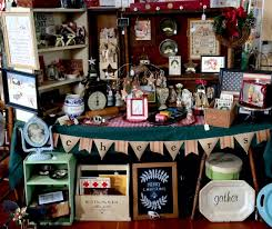 My Shaker Craft Fair Booth  Adirondack Girl  HeartShaker Christmas Craft Fair