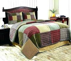 red quilt sets comforter queen quilts country king size bedspread solid qui