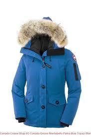 Canada Goose Shop 80 Canada Goose Montebello Parka Blue Topaz Women s