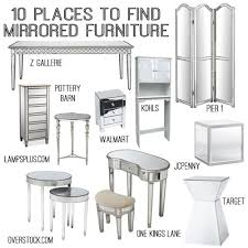 ideas mirrored furniture. 10 sources for mirrored furniture ideas