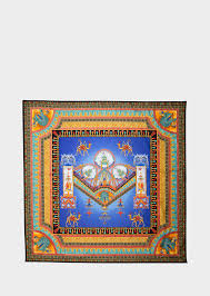 versace marco polo print scarf for women versace
