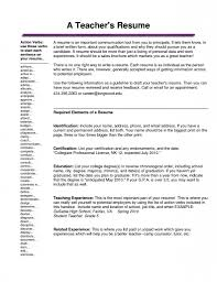 Cover Letter Resume Samples For Computer Teachers At Resume Sample