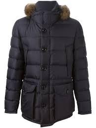 moncler cluny padded coat