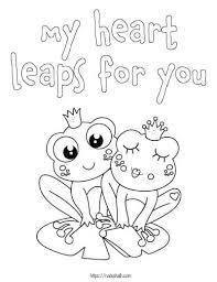 These pages make for wonderful personal greeting cards. 15 Valentine S Day Coloring Pages For Kids The Artisan Life