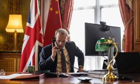Dominic Raab – the foreign secretary who phones it in | Marina Hyde | The  Guardian