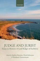 judge and jurist essays in memory of lord rodger of earlsferry  judge and jurist essays in memory of lord rodger of earlsferry