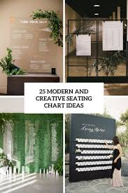 Seating Chart Wedding 25 Modern And Creative Seating Chart Ideas Weddingomania
