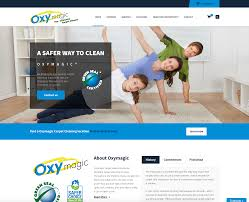 Carpet Cleaning Website Design Oxymagic Carpet Cleaning Shoestring Production Company