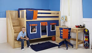 Staircase Bunkbed By Maxtrix For Boys