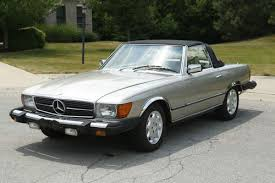 1979 mercedes benz 450sl convertible 2 door 4 5l chagne color