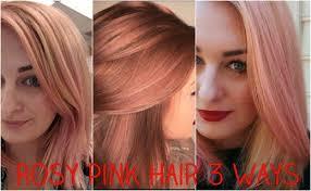 Guy Tang Permanent Color Chart Hair Diy Three Ways To Get Rose Gold Pale Pink Hair Bellatory